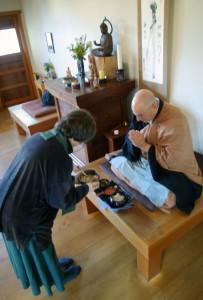 Orioke practice at Berkeley Zen Center.