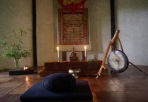 BRC meditation hall.