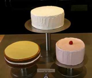 Cakes from Caitlin Williams Freeman's Wayne Thiebaud collection.