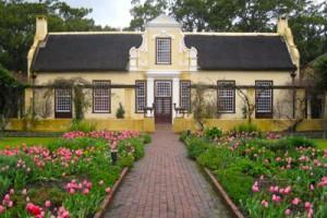 Vergelegen Wine Estate — a Cape Dutch picture.