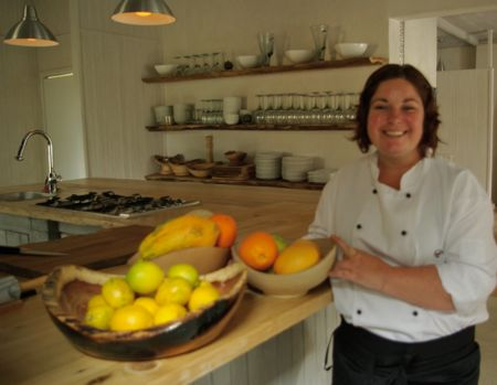 Qambathi Mountain Lodge chef Jenna Develing