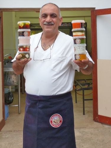 Dino Constantinou outside his Mediterranean Kitchen