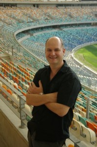 Moses Mabhida Stadium lead architect Gerhard le Roux